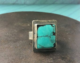 courage. turquoise ring