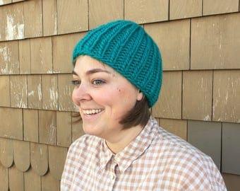 Chunky Knit Beanie Hats / Slouchy Hat / Winter Hat / Beanie / Wool Hat / Unisex