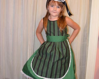 Haunted House and Mansion Maid Dress - Child sizes