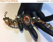 Half Price One week sale On sale -30% Bead and Charm Bracelet with Focal