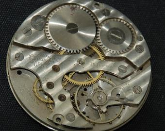 Gorgeous Vintage Antique Elgin Watch Pocket Watch Movement Steampunk SM 45