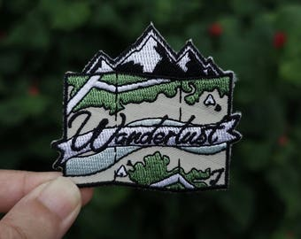 Wanderlust Embroidered Patch