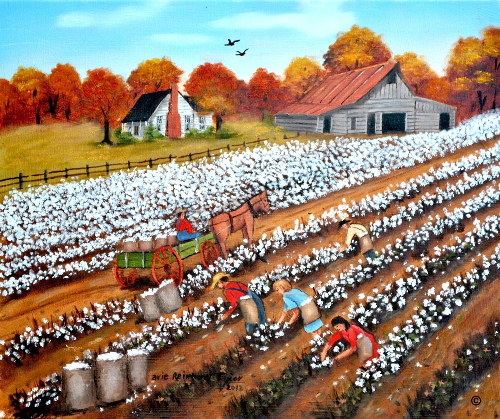 Southern landscape fine art america original painting Fine art america