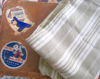 French Fabric Ticking, French Toile A Matelas, French Ticking, Vintage Fabric, French Fabric, French Textile, Fabric & Notions, Fabric