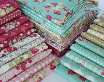 20 Fabric Bundle of Jera Brandvig's  LA CONNER Japanese Cotton Quilting Fabrics Lecien