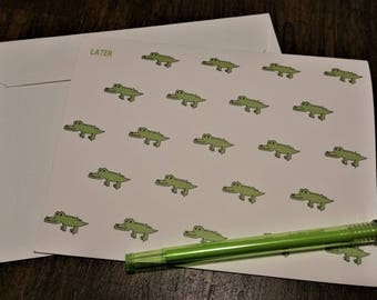 Later Gator Note Card