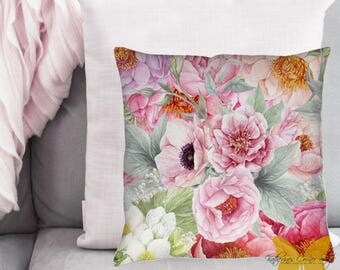 Flower Garden Pillow Exclusive Design