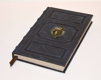 Game of thrones DireWolf Tome Book Grimoire