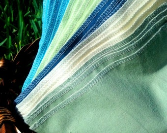 Cloth Napkins - 20 Reusable Paper Towels - Lakeside - Unpaper Napkins - Unpaper Towels - Flannel Napkins - Cloth Paper Towels - 10 x 12