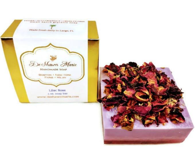 Lilac Rose Handmade Soap