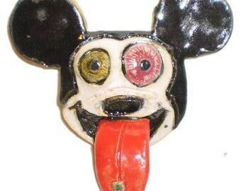 Acid Tongue Cartoon Animal Magnets