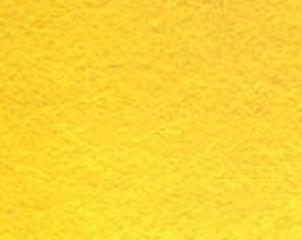 Yellow 20/80 Wool Blend Felt 12x18