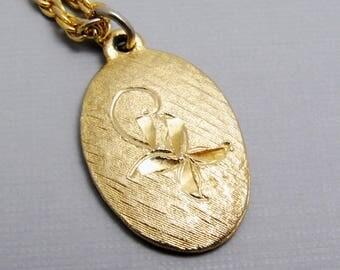 Vintage Flower Pendant Jewelry N8623