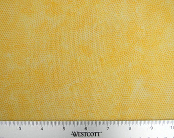 Dimple Cotton Fabric in Yellow