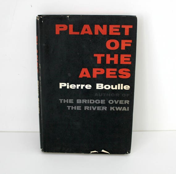 Vintage Planet of The Apes Book Club Ed. BC 1st Edition by Pierre Boulle w/ Dust Jacket