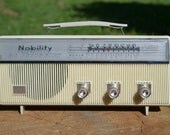 Vintage Nobility Six Transistor Radio , Model x100KC, WORKING