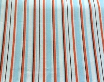 Heather Ross Lightning Bugs stripe fabric