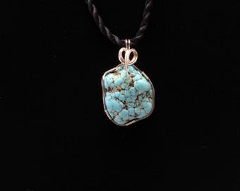 Turquoise Pendant. Listing 544400277