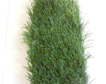 Artificial Grass, Turf Fake Grass 6 Inches X 12 Inches, Drainable Backing,  Fairy