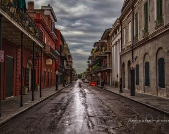 New Orleans - St. Peter Street - Travel Photography