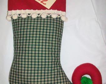 Elf Christmas Stocking A102