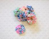 Preppy Colorful Lilly Pulitzer Fabric Scrunchie Scrunchy Many Prints