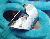Meerjungfrau Schwanz Ring-Silber Meerjungfrau Schwanz Ring-Anweisung Ring-Meerjungfrau Ring-Mermaid Juwelen-Strand Hochzeit Schmuck-Meerjungfrau Schwanz Ring-Mermaid