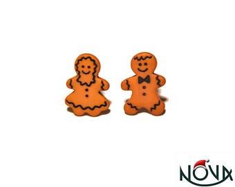 * Christmas * little gingerbread man chips girl & Boy