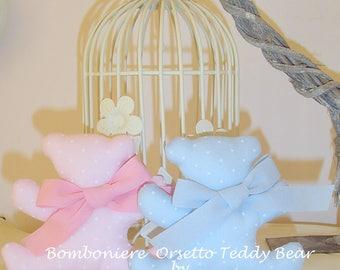 Bears Teddy Bear birth christening communion favors ec ...