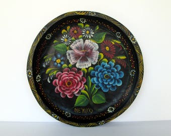 Mexican Hand Carved Batea Tray