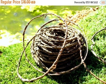 Save25% Bark Wire Garland-Real Bark Covered Wire Vine for Wedding Baskets-Vivariums-Wreaths-Terrariums and more-70 foot roll