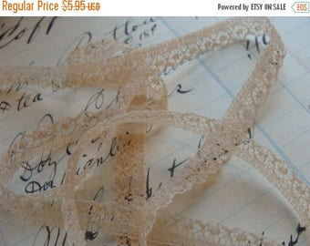 ONSALE 2 Yards Creamy Dreamy Exquisite Antique French  Lace