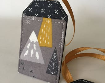 Luggage Tag, Mountains are Calling, Luggage Tags, Travel Gift, Travel Accessory, Bag Tag, Backpack Tag, Luggage Tag Holder, Adventure