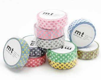 new - washi masking tape - dots -