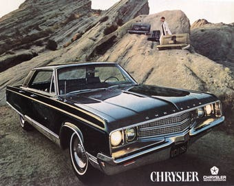 1968 Chrysler New Yorker and Kelloggs Special K Advertisement