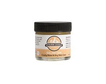 Farm Dog Dry Skin Care and Crusty Nose Salve For Dogs.