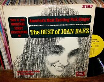 The Best of Joan Baez Vintage Vinyl Record