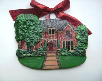 Custom listing for BlueRibbonPie- one Custom House Ornament