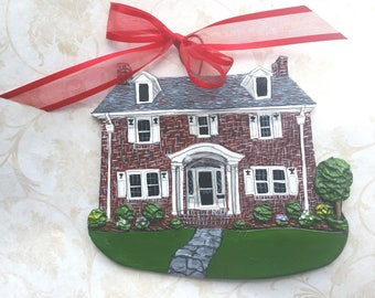 Custom listing for Beach90201- one Custom House Ornament
