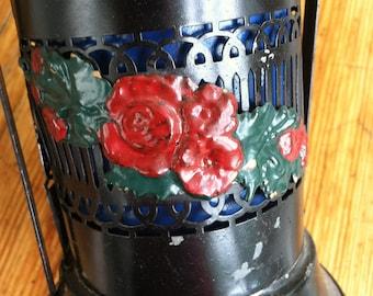 Vintage Metal Flower Basket by Barneche/Stephanie Barnes Studio