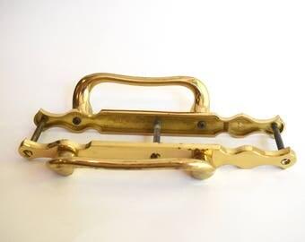 Vintage Brass Door Pulls, Handles, Hardware, Home Improvement