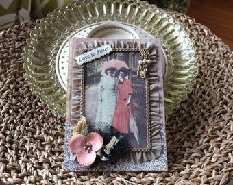 Sister Card - Handmade Card for Sister