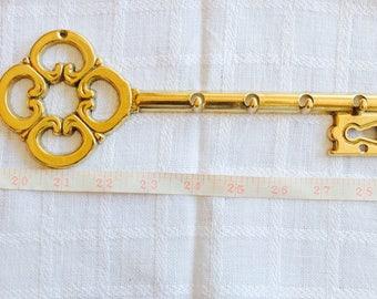 Vintage Brass Key Holder