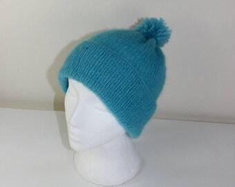 40% OFF SALE Instant Digital File pdf download Knitting pattern- Party Angel Bobble Beanie Hat pdf download knitting pattern