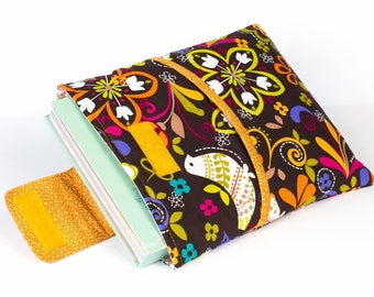 Book Cover - Book Sleeve Monsoon  with front pocket