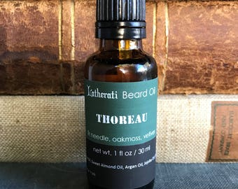 Thoreau Beard Oil - fir needle, oakmoss, vetiver