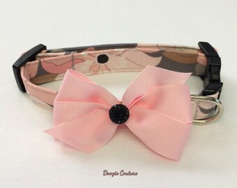 Splash Of Style Dog Collar Size XS through Large by Doogie Couture Pet Boutique