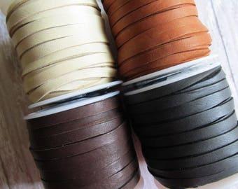 FULL SPOOL 5mm Deerskin Lace, Deerskin, Deer Skin, Lace, Leather Lace, Lace, Leather, 5mm lace, 5mm, Spool of Deerskin, Spool of Deer Skin