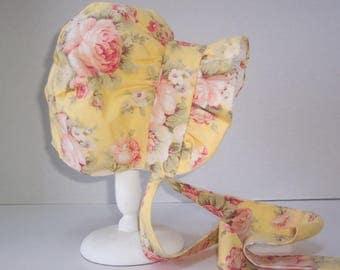 Handmade Vintage inspired Baby Bonnet