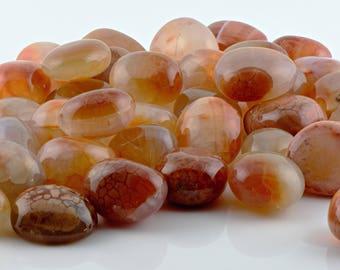 Snakeskin Agate Tumbled Gemstone - Stone of Positive Energy